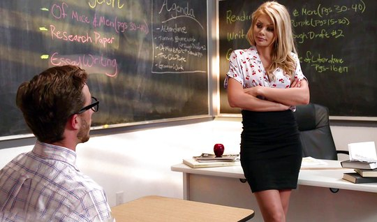 free prono teacher interested sex xxx vedios seduces student desk